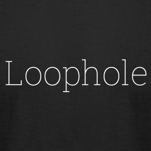 Loophole Abstract Design. - Men's T-Shirt by American Apparel