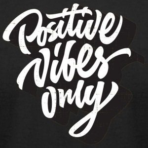 Positive Vibes - Men's T-Shirt by American Apparel