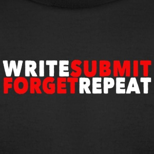 Write Submit Forget Repeat - Men's T-Shirt by American Apparel