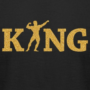 Fitness king - Men's T-Shirt by American Apparel