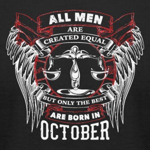 The best are born in October LIBRA - Men's T-Shirt by American Apparel
