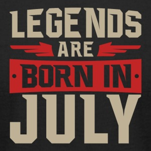 Legends Are Born in July - Men's T-Shirt by American Apparel