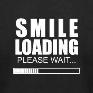 Smile loading - Men's T-Shirt by American Apparel