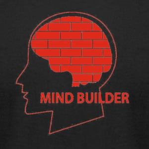 mind builder - Men's T-Shirt by American Apparel
