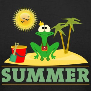 Frog Summer - Men's T-Shirt by American Apparel