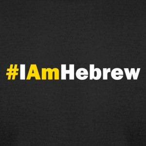 IamHebrew - Men's T-Shirt by American Apparel