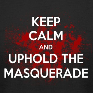 Uphold the Masquerade - Men's T-Shirt by American Apparel