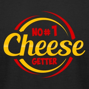 NO 1 CHEESE GETTER - Men's T-Shirt by American Apparel