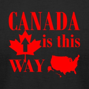 conception canada - T-shirt pour hommes American Apparel