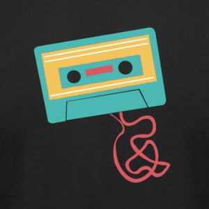 Vintage Retro Cassette Tape - Men's T-Shirt by American Apparel