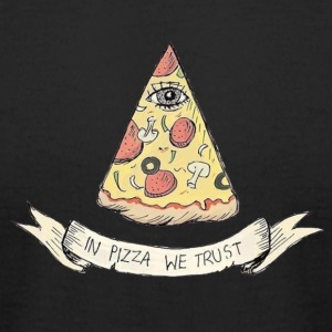 pizza - Men's T-Shirt by American Apparel