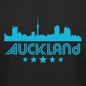 Retro Auckland Skyline - Men's T-Shirt by American Apparel