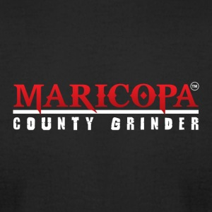 MARICOPA COUNTY GRINDER - Men's T-Shirt by American Apparel