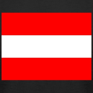 National flag of Austria - Men's T-Shirt by American Apparel