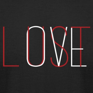 Love Lust - Men's T-Shirt by American Apparel