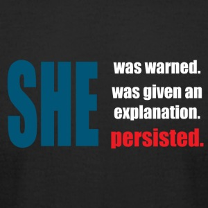 Never Persisted - Men's T-Shirt by American Apparel
