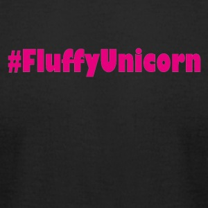 fluffy unicorn einhorn rainbow - Men's T-Shirt by American Apparel