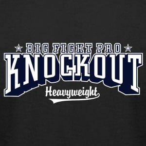 Big fight pro knockout - Men's T-Shirt by American Apparel