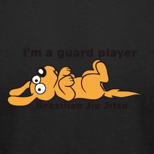 Brazilian Jiu Jitsu Kids - Cute Guard Player Puppy - Men's T-Shirt by American Apparel