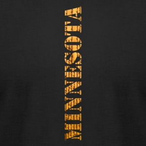 Minnesota Constitution Design - Men's T-Shirt by American Apparel