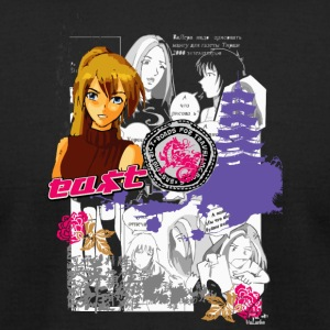 ANIME - Men's T-Shirt by American Apparel