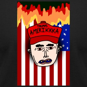 F*ck Donald Trump - Men's T-Shirt by American Apparel