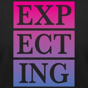 expecting - Men's T-Shirt by American Apparel