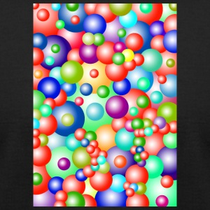 colorful bubbles - Men's T-Shirt by American Apparel