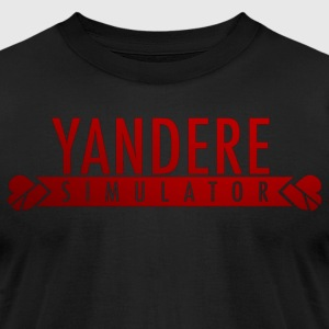 Spooky Yandere - Men's T-Shirt by American Apparel