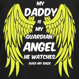 My Daddy Is My Guardian Angel - Men's T-Shirt by American Apparel