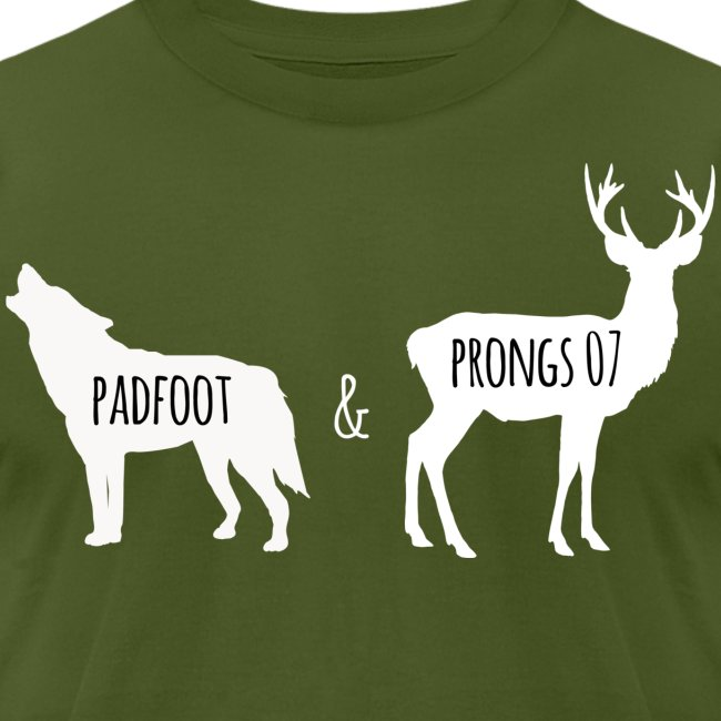 Padfoot&Prongs07 White