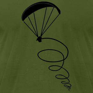 thermik paragliding - Men's T-Shirt by American Apparel