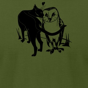 Bearn Owl - Men's T-Shirt by American Apparel