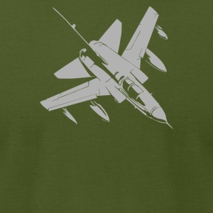 Tornado Bundeswehr Aircraft Airplane Bomber Nato J - Men's T-Shirt by American Apparel