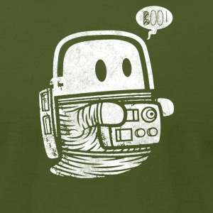 Astro Ghost - Men's T-Shirt by American Apparel