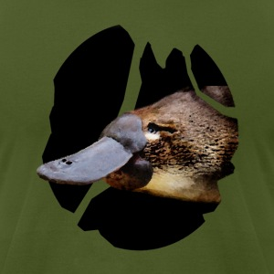 The platypus within - Men's T-Shirt by American Apparel