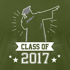 Class of 2017 Dabbing Graduate - Men's T-Shirt by American Apparel