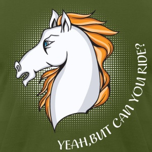 HORSE Riding - Men's T-Shirt by American Apparel