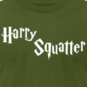 Harry Squatter - Men's T-Shirt by American Apparel