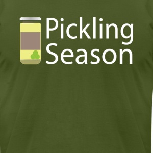 Pickling Season Graphic Tee Shirt - Men's T-Shirt by American Apparel