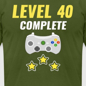 Level 40 Complete - Men's T-Shirt by American Apparel