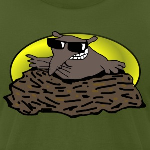 animal pet mole - Men's T-Shirt by American Apparel