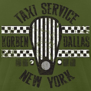 Korben Dallas Taxi Service - Men's T-Shirt by American Apparel