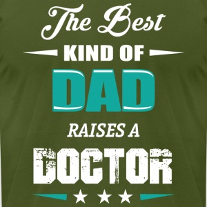 DAD OF DACTOR - Men's T-Shirt by American Apparel