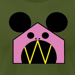 Mouse House - Men's T-Shirt by American Apparel