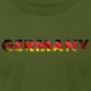 Germany 2 (2541) - Men's T-Shirt by American Apparel