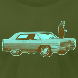 Shorty Cadillac Cyan Brown - Men's T-Shirt by American Apparel