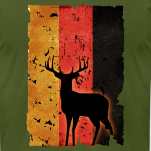 German Hunter - Men's T-Shirt by American Apparel