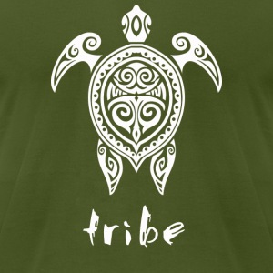 Tribe (Hawaii #2 in White) - Men's T-Shirt by American Apparel