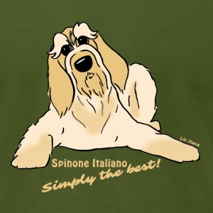 Spinone Italiano - Simply the best - Men's T-Shirt by American Apparel